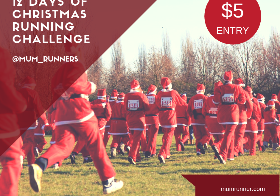 12 Days of Christmas December Running Challenge