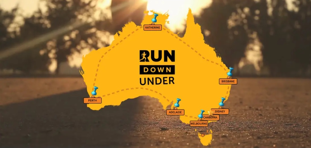 Run Down Under – Facebook Giveaway