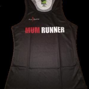Mum Runner Singlet Front