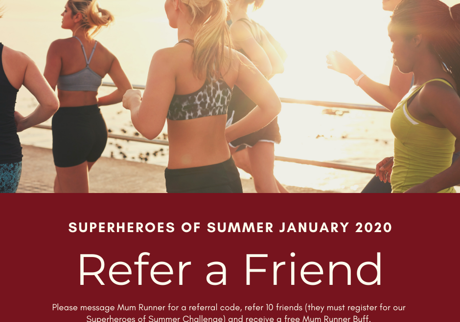 Refer A Friend – Superheroes of Summer