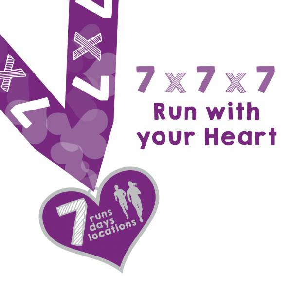 Run with your Heart 7x7x7